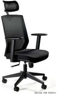 Unique Fotel biurowy ESTA czarny F202-1H)  F202-1H