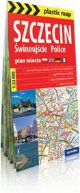 ExpressMap praca zbiorowa plastic! map Szczecin, Świnoujście, Police. Foliowany plan miasta 1:22 000