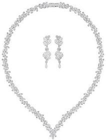 Swarovski Swarovski Diapason V Set White Rhodium-plated