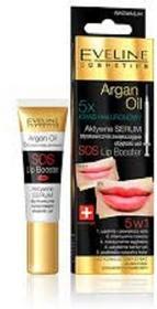 Eveline Sos Lip Booster With Argan Oil 5in1, serum powiększające usta, 12 ml