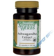 SWANSON Ashwagandha Extract 60caps