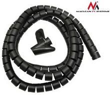 Maclean Organizator maskownica kabli MCTV-676 B black MCTV-676B