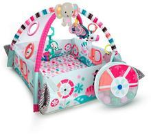 Kids II Bright Starts, plac zabaw Słonik Pink z piłeczkami