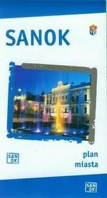 BiK Agencja Wydawnicza Sanok Plan miasta 1:11 000 - BiK