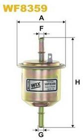FILTRON Filtr paliwa WF8351