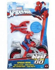 Hasbro Spider-man ścigacz Blast Spider Man with Cycle B9705/B9994