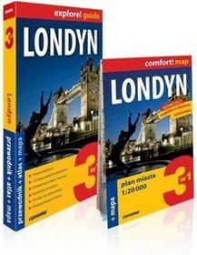 ExpressMap  Londyn 3w1: przewodnik + atlas + mapa