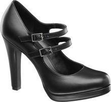 Graceland szpilki damskie czarne
