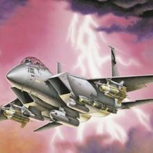 Italeri F15 E Strike Eagle 166