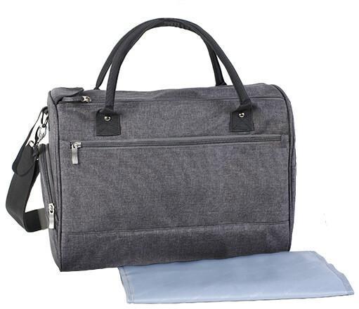 BabyOno torba Dla Mamy SO STYLE z matą 1504/02 SZARA 43668