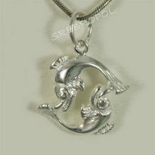 NA Wisiorek srebrny znak zodiaku Ryby (Ryby SH 1.5g)