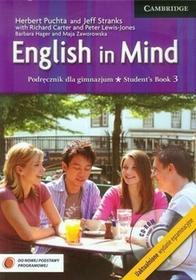English in Mind 3 Wydanie egzaminacyjne Podręcznik. Klasa 1-3 Gimnazjum Język angielski - Richard Carter, Herbert Puchta, Jeff Stranks