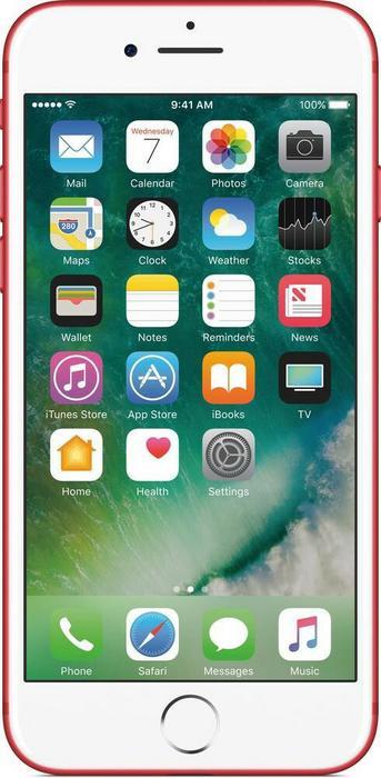 Apple iPhone 7 256GB czerwony