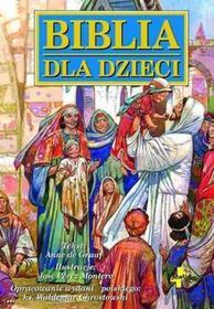 Vocatio Oficyna Wydawnicza Biblia dla dzieci - opowieści biblijne z ilustracjami - Anne De Graaf