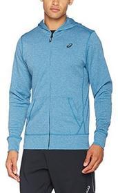 88816d73c66a2 -27% Asics Tech męski Full Zip Bluza z kapturem, niebieski, s 140926-8154