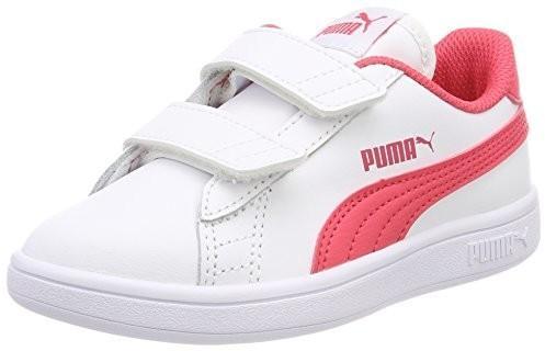 c5f9125702173f Puma Unisex dziecięce Smash V2 L V PS Sneaker - biały - 33 EU 365173 05