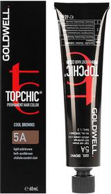 Goldwell Topchic, farba do włosów 5A Light Ash Brown, 60 ml