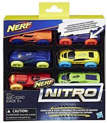 Hasbro Nerf Nitro Foam Car pack 1 DARMOWA DOSTAWA DO KIOSKU RUCHU OD 24,99ZŁ