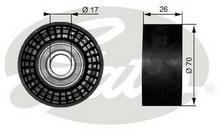 GATES rolka kierunkowa / prowadząca, pasek klinowy zębaty T38018