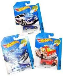 Mattel HOT WHEELS Samochodzik Zmieniający kolor BHR15