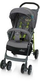 Baby Design Wózek spacerowy Mini 2018- 07 szary