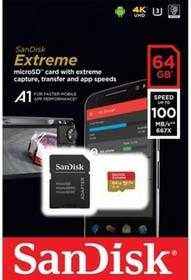 SanDisk MicroSDXC Extreme 64GB