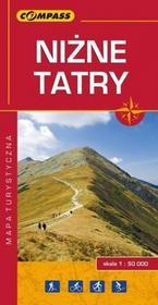 Wydawnictwo Compass praca zbiorowa Niżne Tatry. Mapa turystyczna w skali 1:50 000