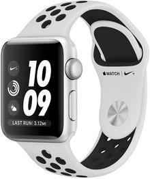 Apple Watch 3 Nike+ 38 mm Srebrny / Platyna