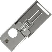Spyderco nóż składany, kwadratowa, Titanium C193TIP