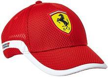 Ferrari F1 Track Cap, 83360702, czerwony, jeden rozmiar 83360702