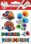 Pamiątki z polski Naklejki wypukłe - Polska 02