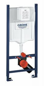 Grohe Rapid SL f Stelaż podtynkowy 4w1 do WC z przyciskiem uruchamiającym kątownikiem i matą 38840000+38732000+3855800M