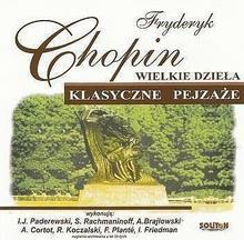 zbiorowa Praca Wielkie dzieła. Klasyczne pejzaże. F. Chopin CD / wysyłka w 24h