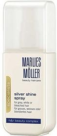 Marlies Moller Silver shine Spray Leave-In Spray i odżywkę, z połyskiem 125 G 9007867210482