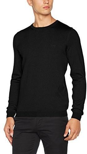 ac8fa6d00311b Hugo Boss Green męski sweter, kolor: czarny (black 001) , rozmiar: s ...