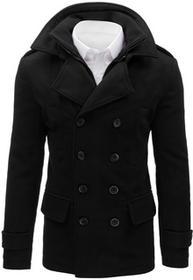 Dstreet Płaszcz męski czarny (cx0373) cx0373_s