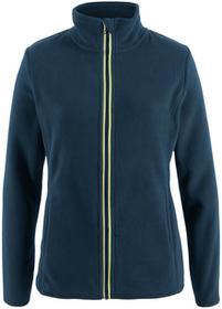 Bonprix Bluza rozpinana z polaru ciemnoniebieski
