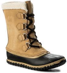 Sorel Śniegowce Caribou Slim NL2649 Curry/Black 373