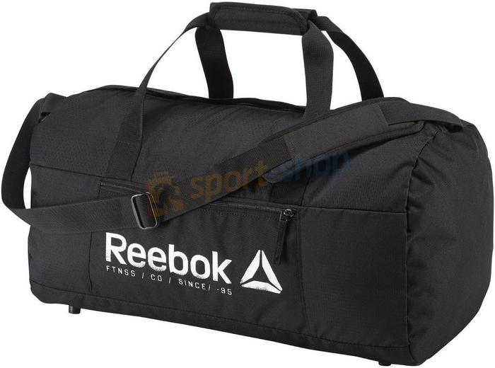 c918d29e39134 Reebok Fitness Torba Found Grip M 40L czarna) 12h BK5997 – ceny ...