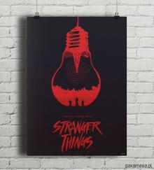 Stranger Things - plakat A2