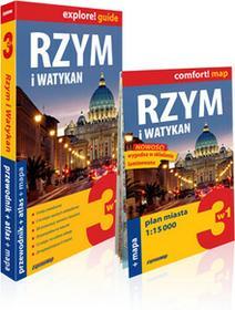 ExpressMap praca zbiorowa explore! guide Rzym i Watykan. Przewodnik z atlasem i mapą