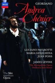 Giordano Andrea Chenier Maria Guleghina The Metropolitan Opera Orchestra And Chorus Luciano Pavarotti