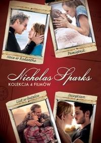 Nicolas Sparks filmów 4DVD) DVD) Nick Cassavetes Scott Hicks Luis Mandoki