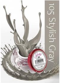 Semilac UV Gel Color 105 Stylish Grey 5ml Żel UV do paznokci 5902533440450