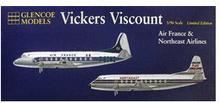 Glencoe Models Model plastikowy - Samolot Vickers Viscount - Air France 6501