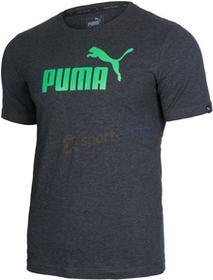 Puma Koszulka Essential No.1 Tee czarno-niebieska)
