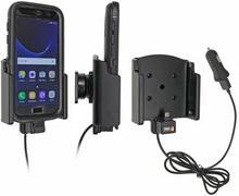 Brodit AB Uchwyt do Samsung Galaxy S7 w futerale Otterbox Defender z wbudowanym kablem USB oraz ładowarką samochodową 521891
