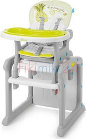 Baby Design BABY DESIGN Krzesełko do karmienia CANDY ZIELONY 04 13068