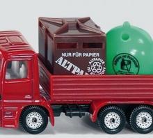 Siku Ciężarówka z pojemnikiem na odpady 0828