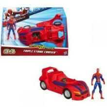 Hasbro Spiderman Pojazd Bojowy 3 w 1
